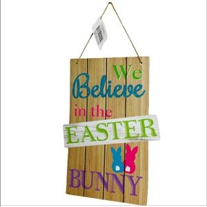 Wooden Easter Wall Hanging Decorations